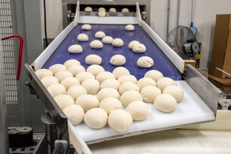Five years ago, pizza dough balls were a small portion of Custom Foods' ­business. Today, it makes up about 30%.