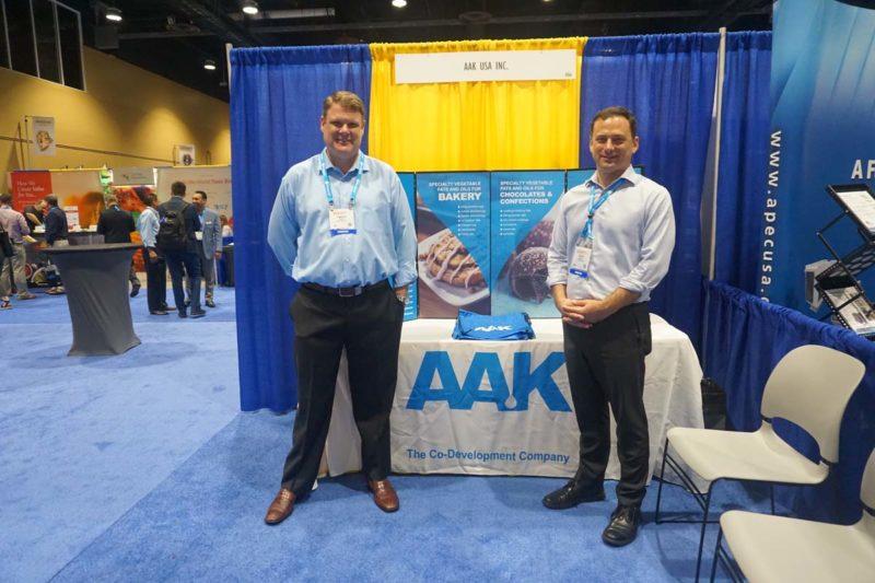 Jason Glaser, left, and Tom Welsch, AAK USA.