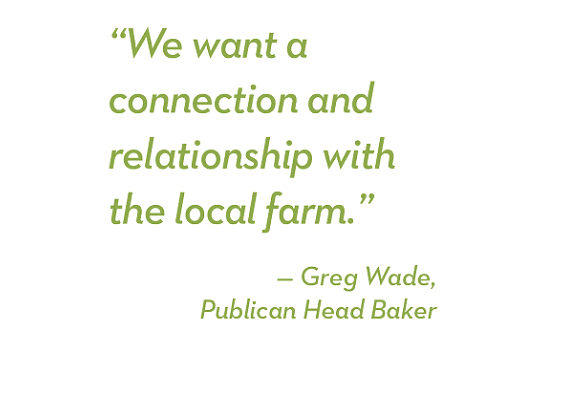 Demand for heritage wheat varieties is soaring, and Chicago's Publican Quality Bread works directly with Spence Farm in Fairbury, Ill., on three: Warthog for flavor, Red Fife for baking quality and Turkey Red for rising qualities. (1 of 6)