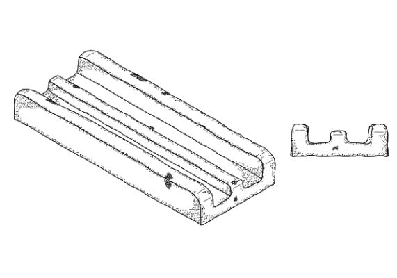 This patent illustrates the design for a snack food product.  US Patent No. D787,150 (May 23, 2017), T. Huthmaker et al., assigned to Frito-Lay North America, Inc., Plano, TX. (1 of 15)