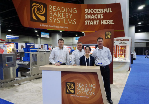 The team from Reading Bakery Systems.