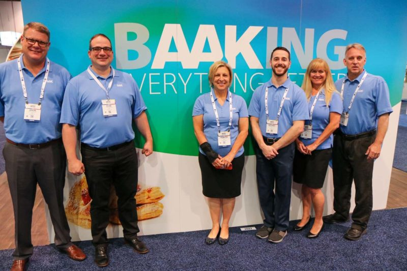 The team from AAK USA, Inc. (Booth No. 2027).