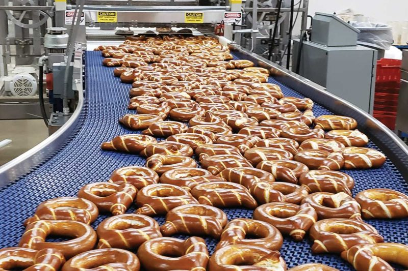 Ditsch USA offers a one-stop shop for pretzel twists, sticks, bites and others produced at its Cincinnati bakery.