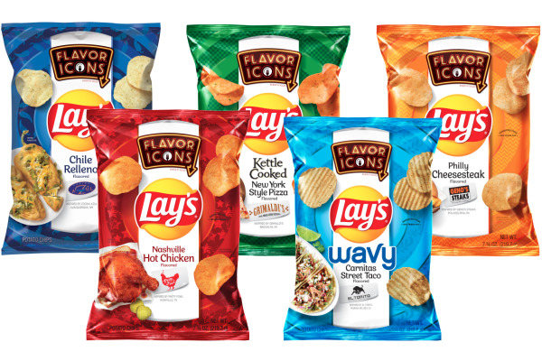 Lay's Flavor Icons