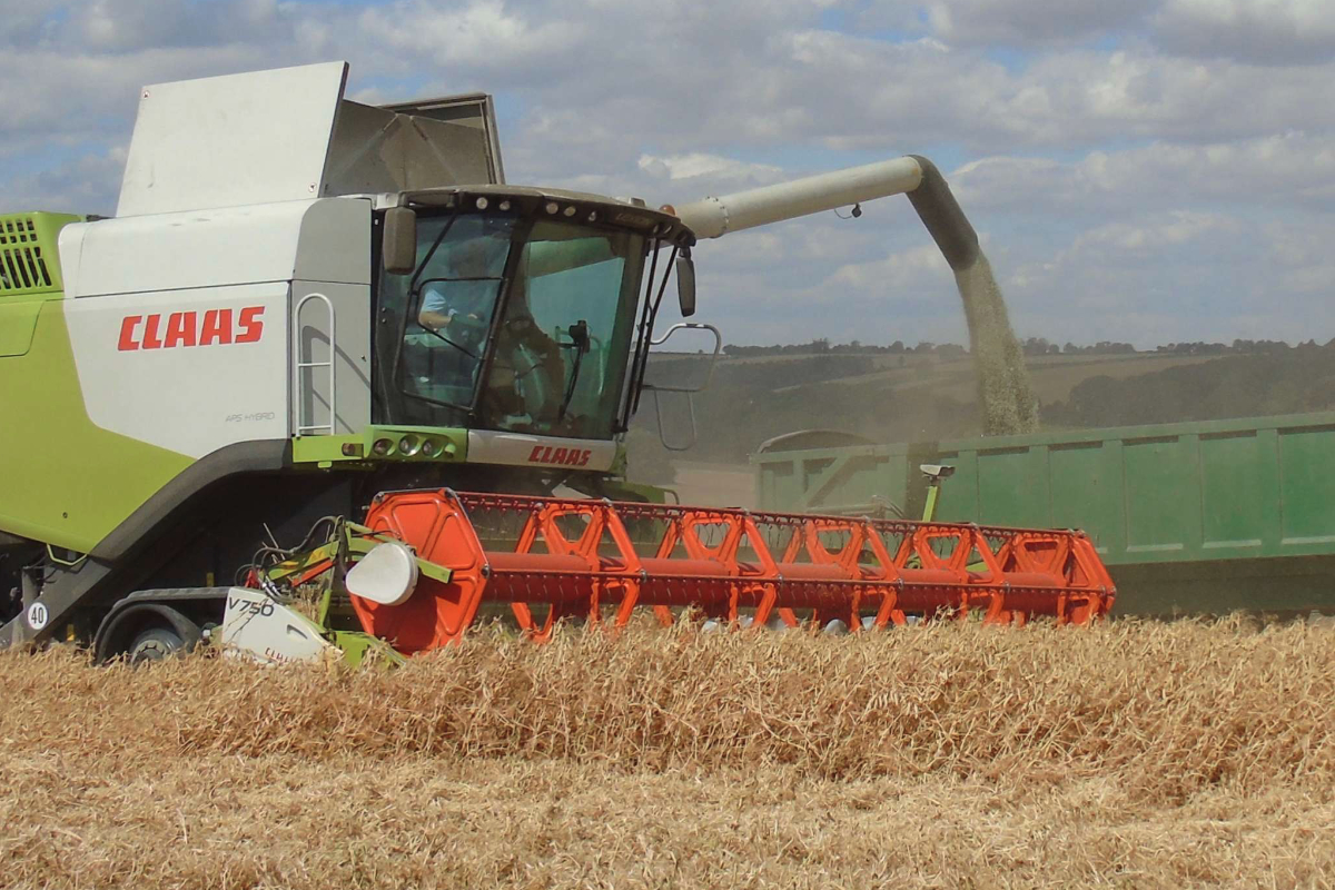 Gleadell Agriculture combine
