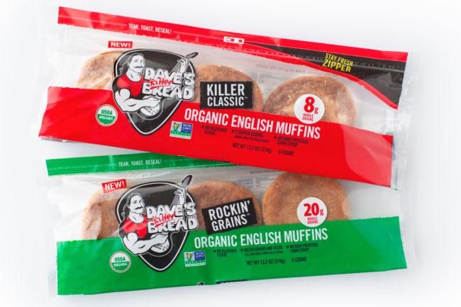 Dave's Killer Bread English muffins