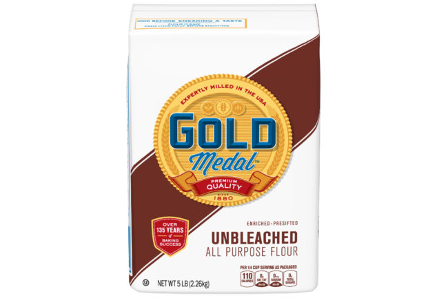 General Mills 5-lb bag of Gold Medal Unbleached Flour