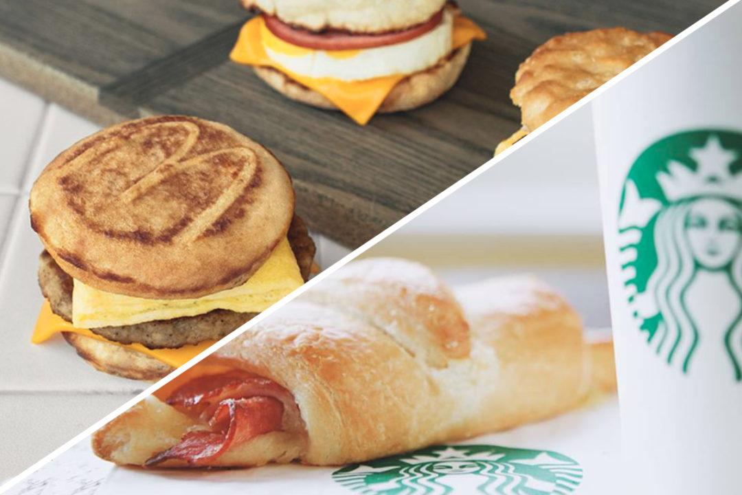 McDonald's and Starbucks