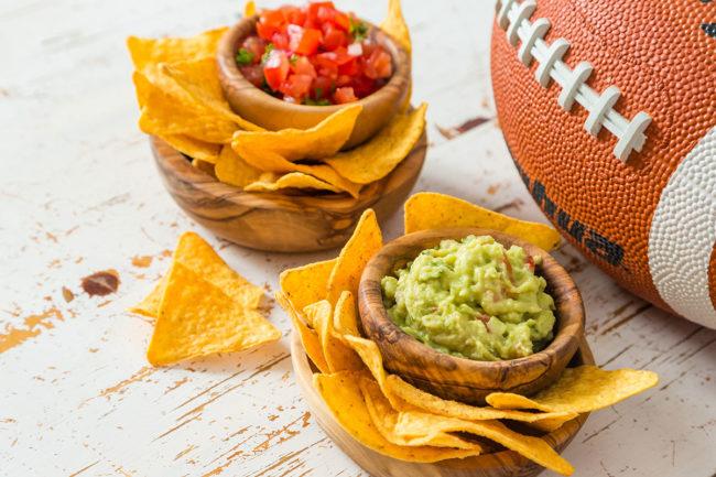 Super Bowl food statistics