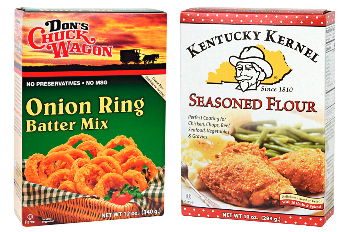 Kentucky Kernel and Dons Chuck Wagon brands, Hodgson Mill