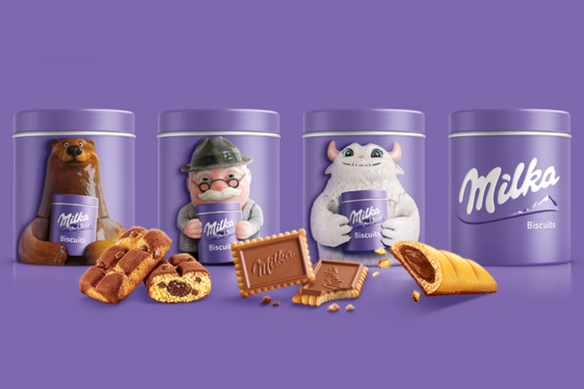 Mondelez Milka Loop recyclable packaging, TerraCycle