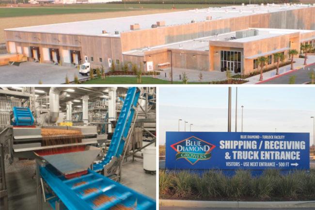 Blue Diamond Growers Turlock facility