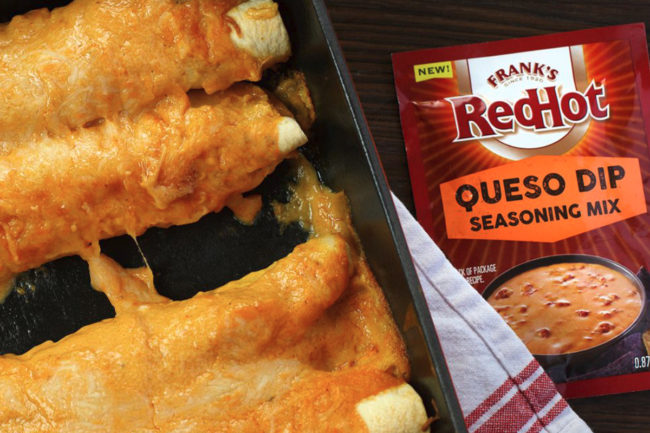Frank's Red Hot queso seasoning mix, McCormick