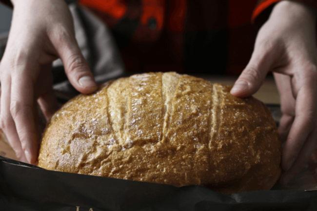 La Brea Bakery artisan sourdough loaf
