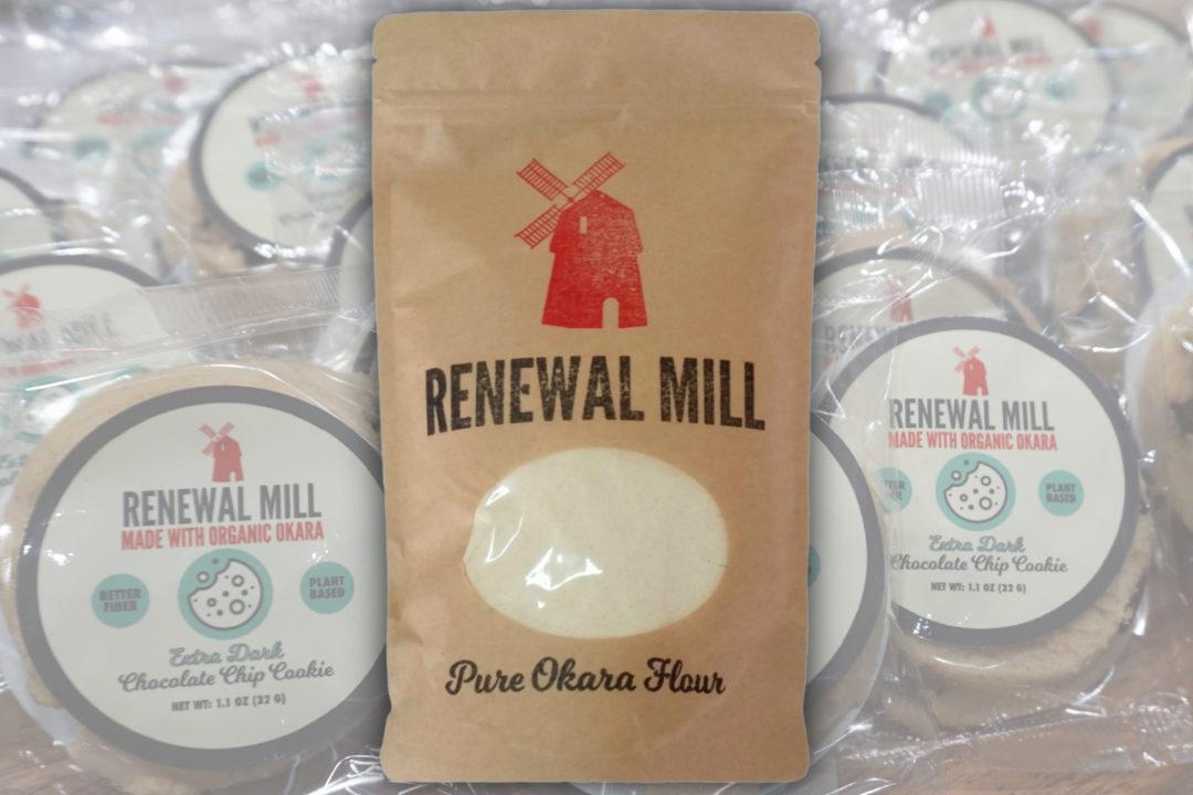 Renewal Mill okara flour and cookies