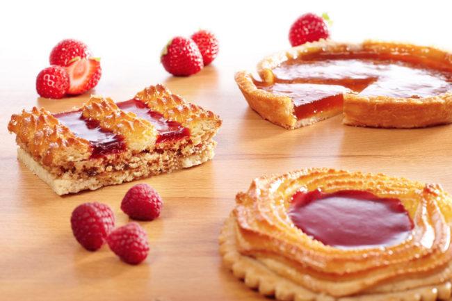 Pectin and alginates in baking applications