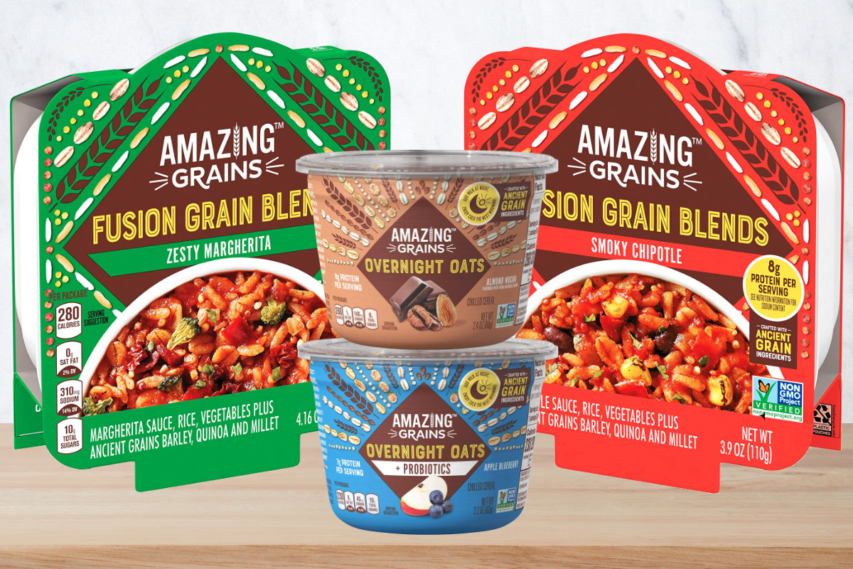 Amazing Grains products, Kraft Heinz