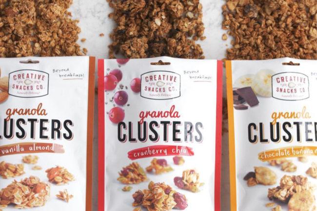 Creative Snacks Co. granola clusters