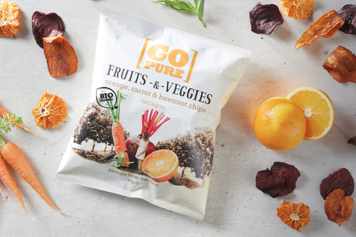 Go Pure Veggie Chips, Yellow Chips B.V.