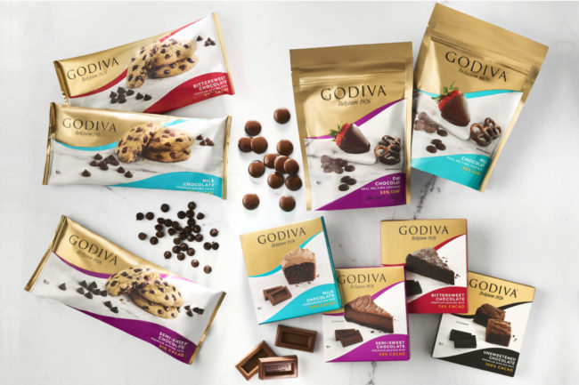 Godiva premium baking chocolates
