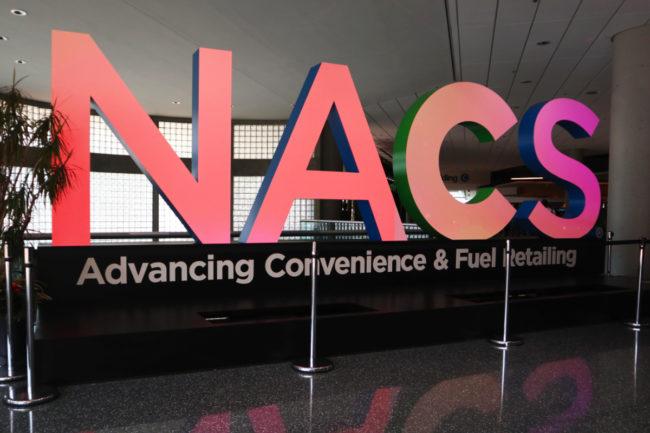 NACS sign