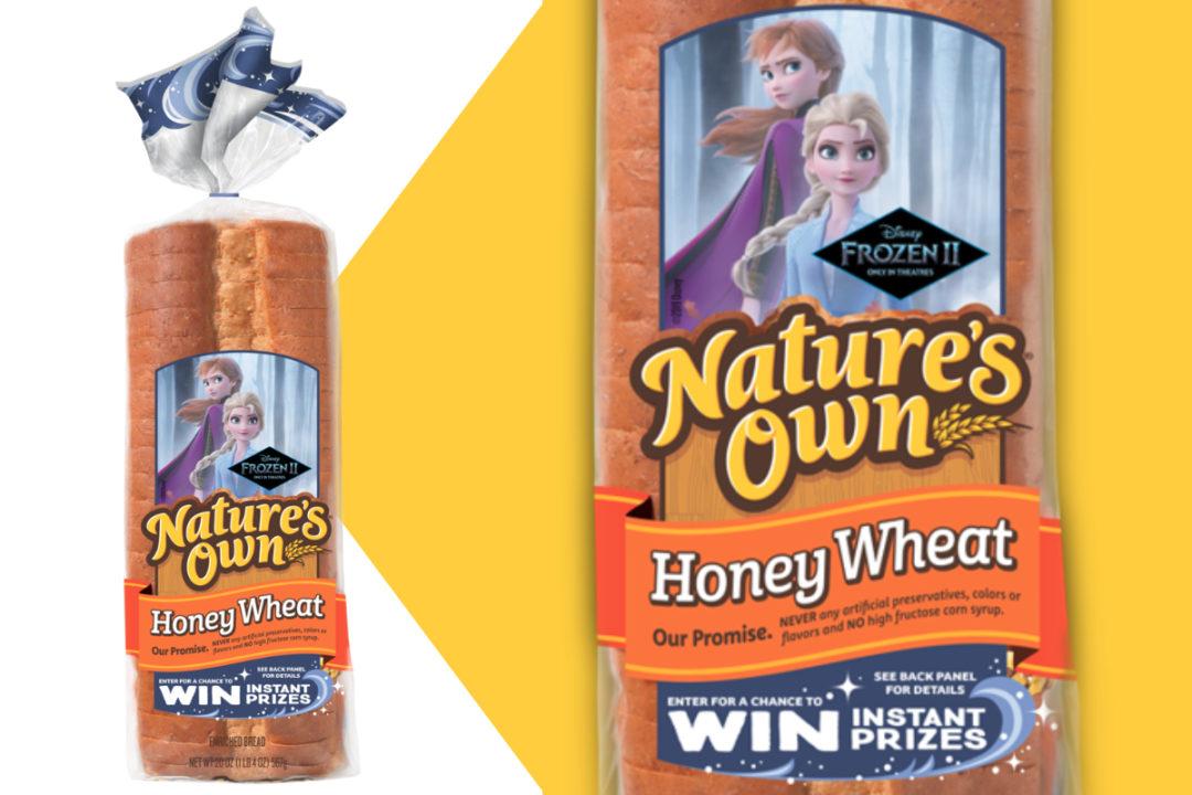 Nature's Own Frozen 2 bread
