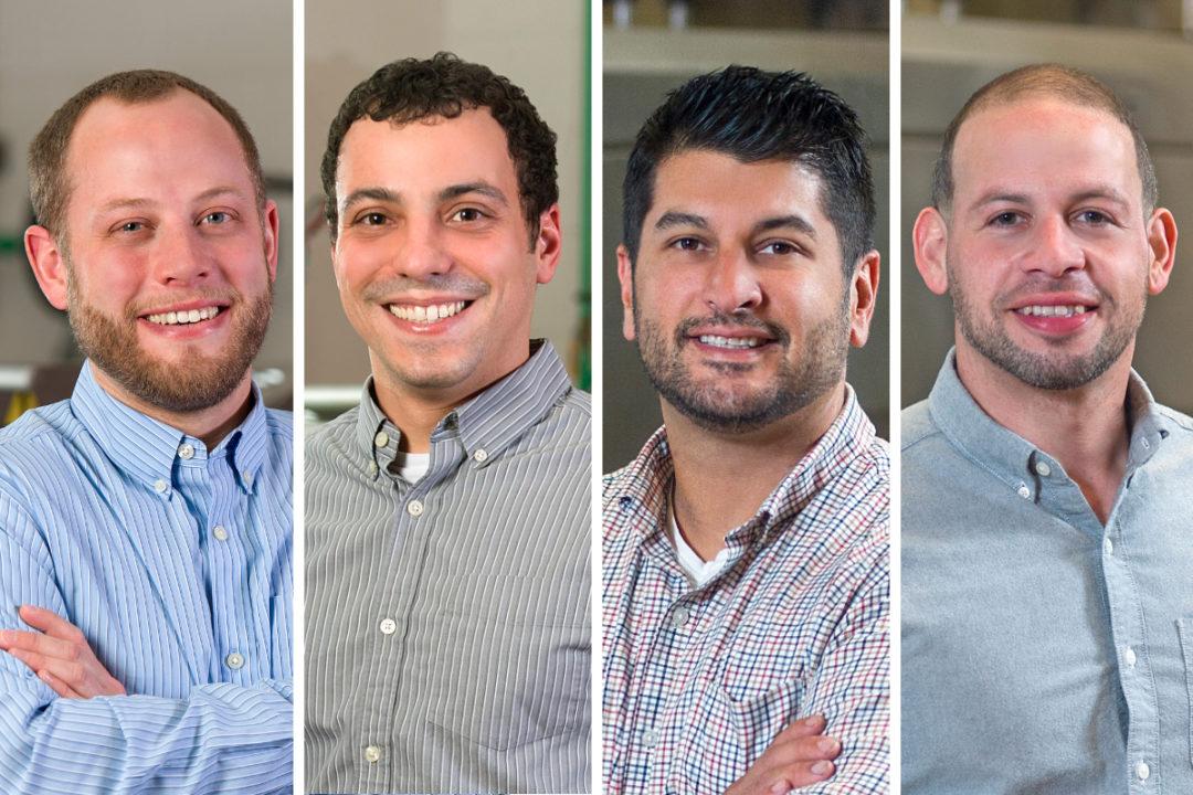Cameron Johnston, Michael Snarski, Steven Moya and Andrew Torres, Reading Bakery Systems