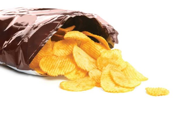 Chip Bag, vertical packaging