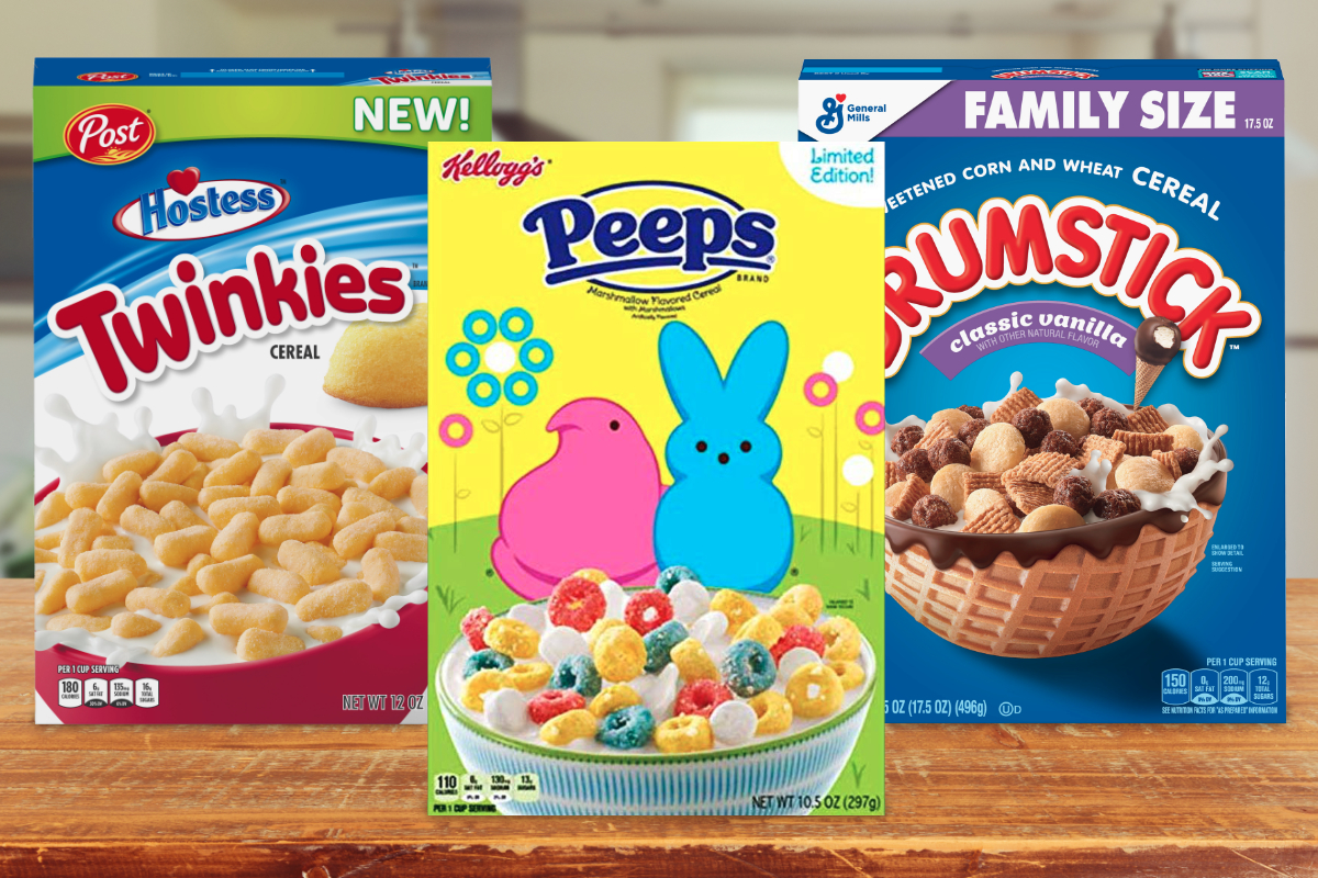 New 2019 cereals from Post, Kellogg and General Mills