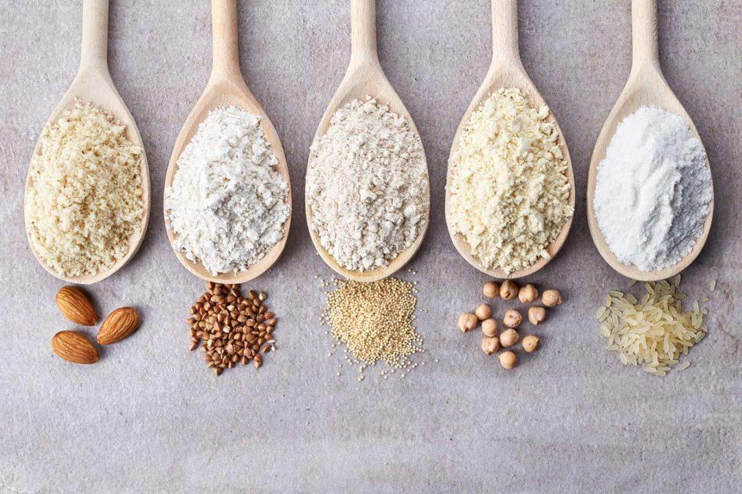 Gluten-free flour varieties