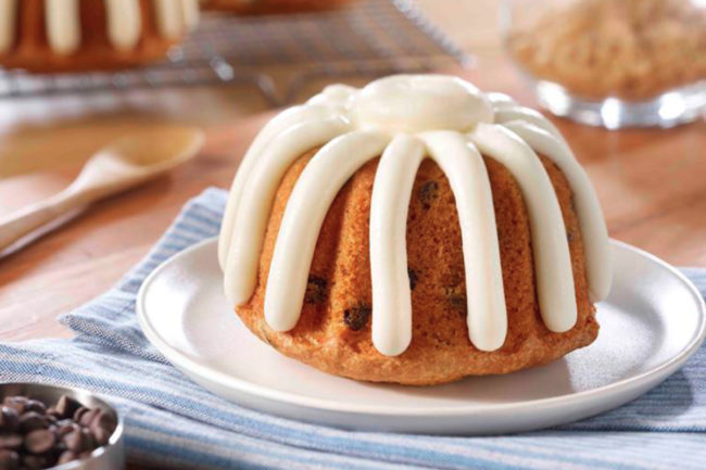 Nothing Bundt Cakes mini chocolate chip bundt cake