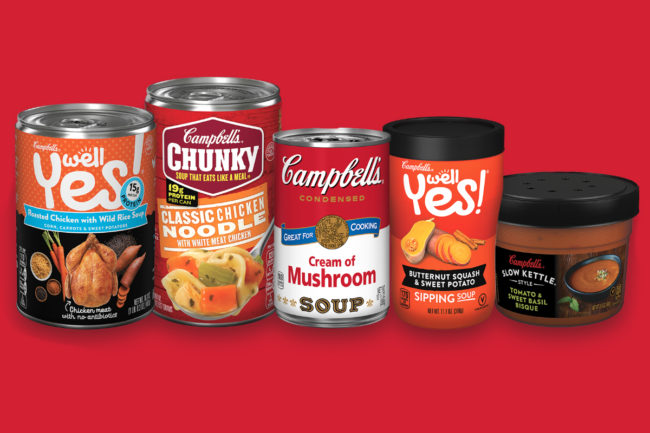 Campbell Soup soups