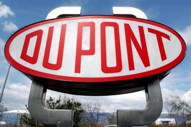 DuPont sign