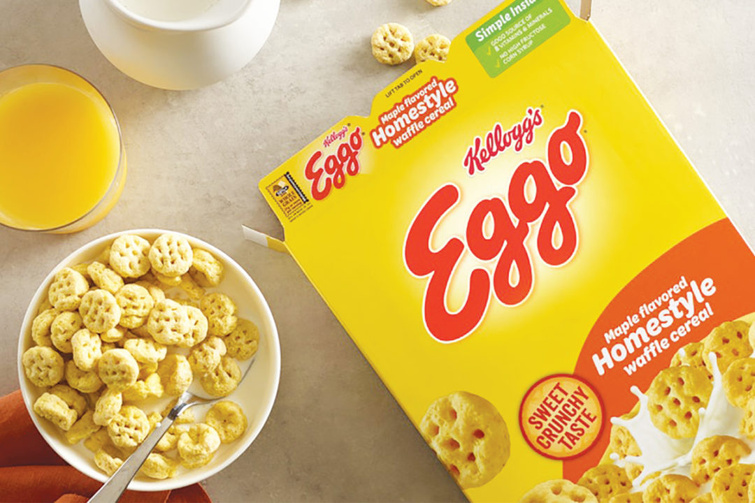 Kellogg's Ego cereal