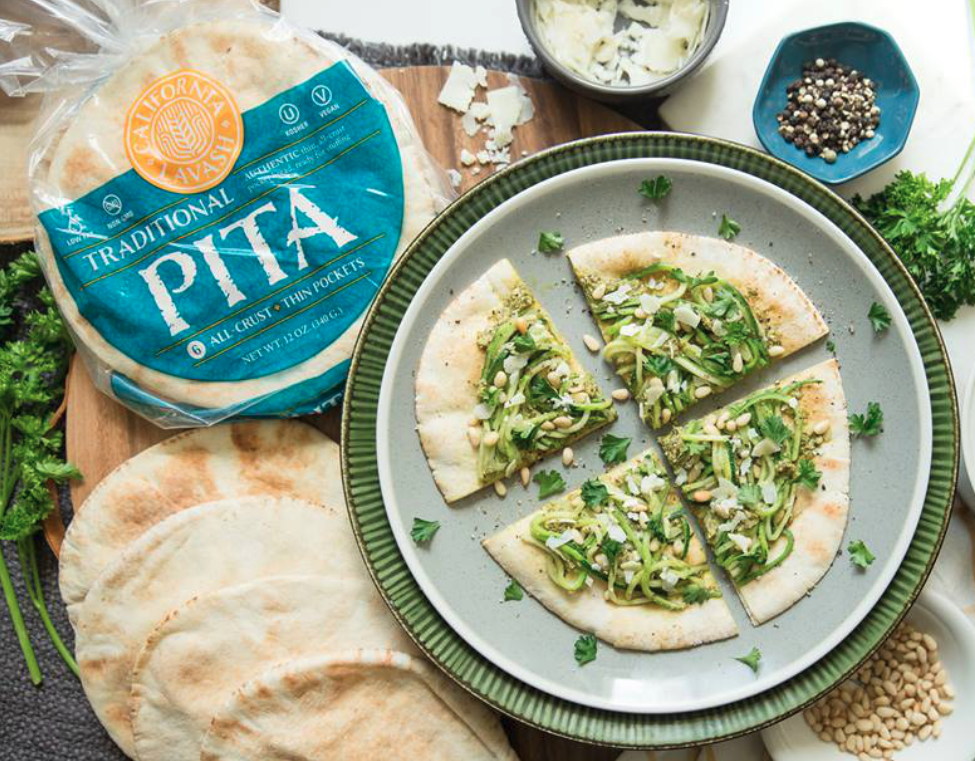 California Lavash traditional pita