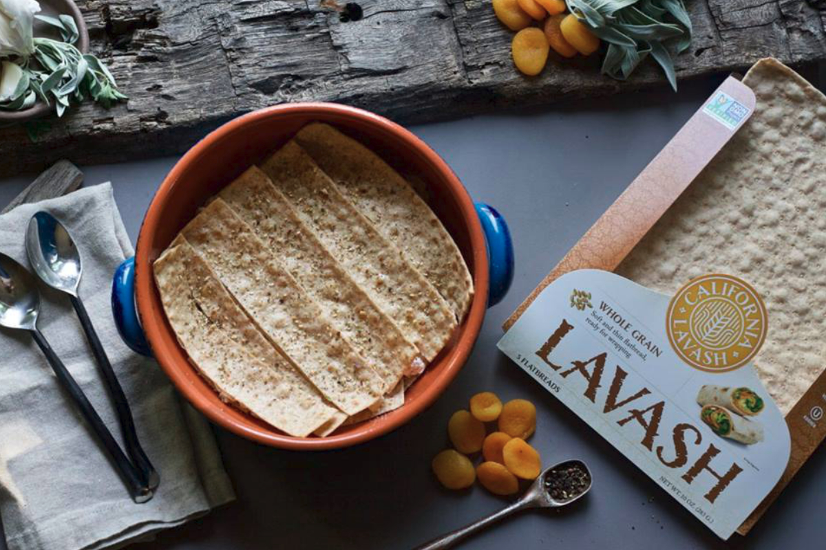 California Lavash whole grain lavash