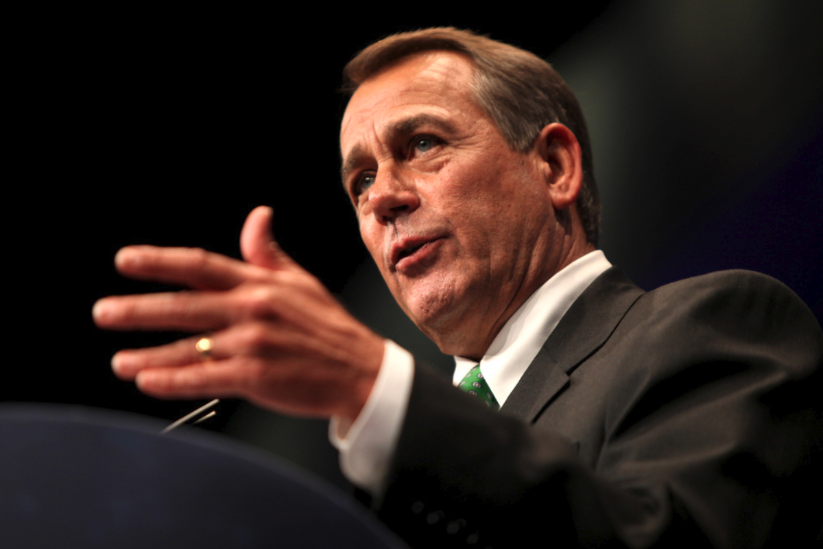 Former Speaker of the U.S. House of Representatives John A. Boehner