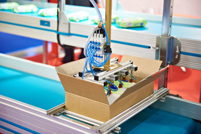 Robotic packaging