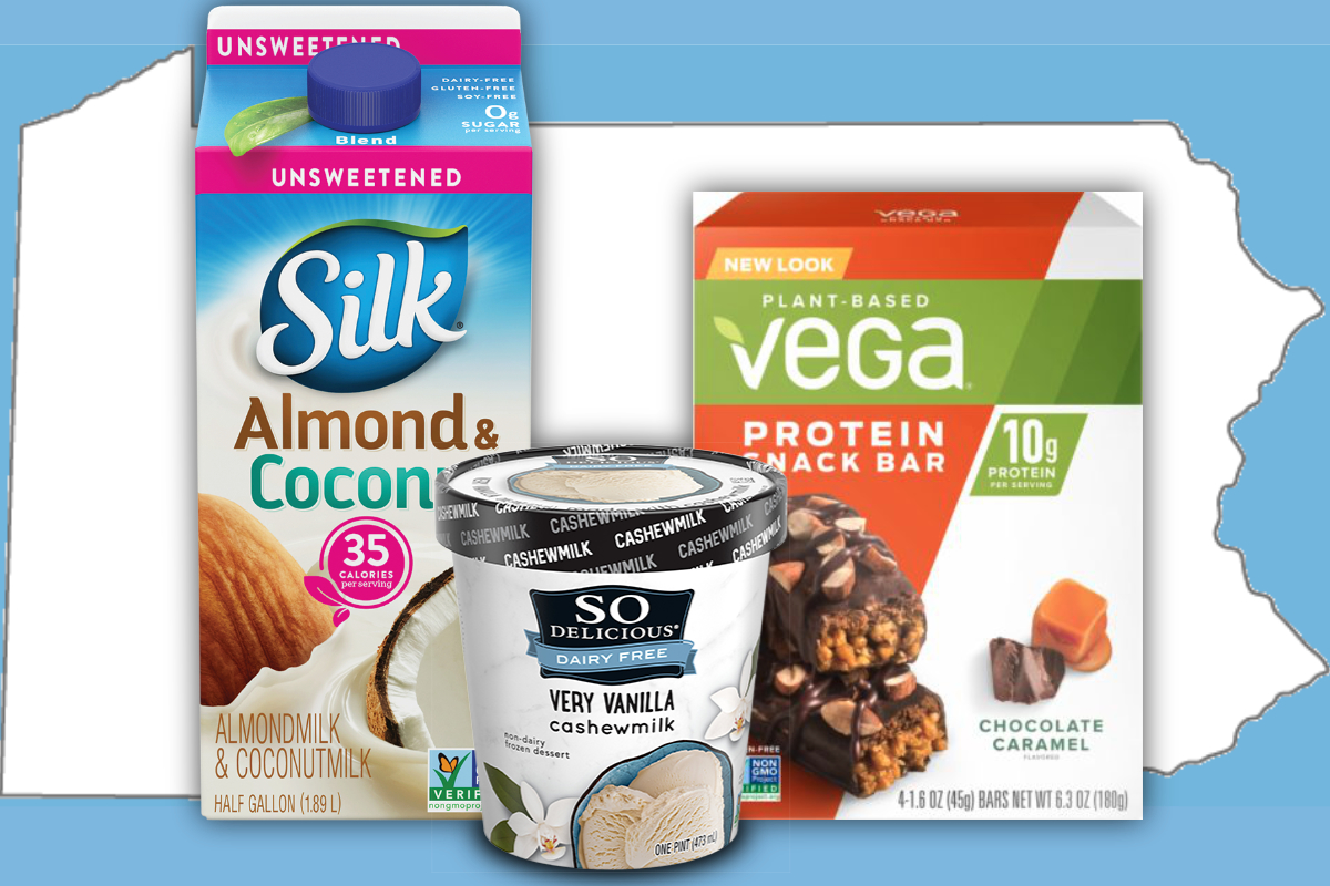 Danone dairy-free products