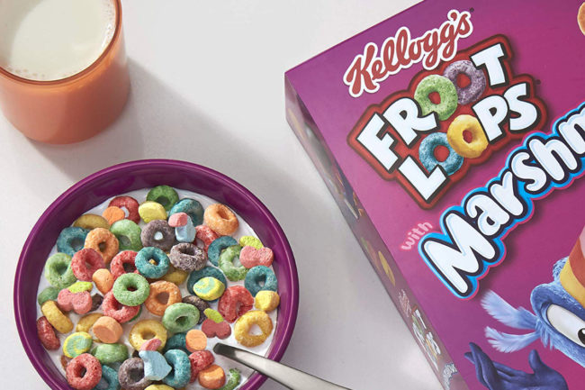 Kellogg Froot Loops cereal