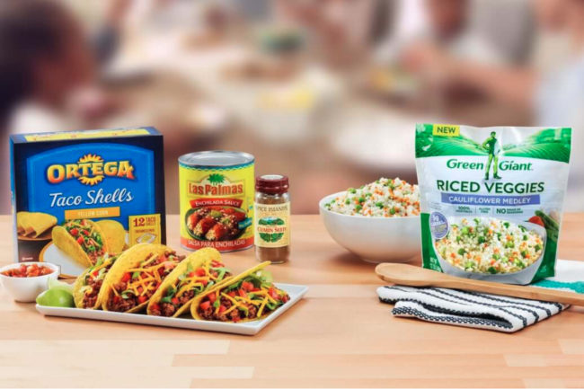 Ortega and Green Giant brands, B&G Foods