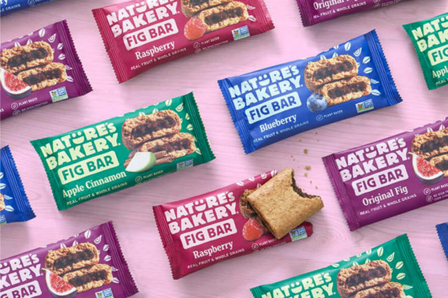 Nature's Bakery fig bars new packaging