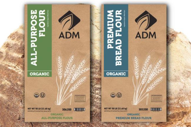 ADM organic flours