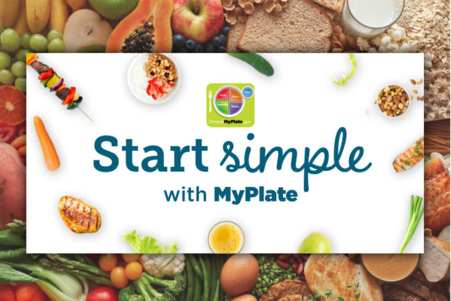 Start Simple with MyPlate