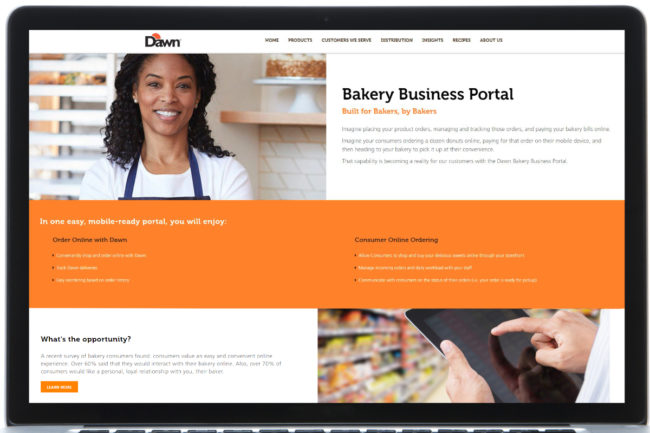 Dawn Bakery portal
