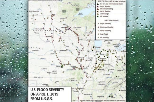 Flood severity chart