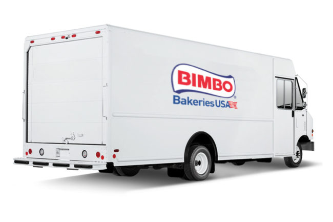 Bimbo Bakeries electric truck