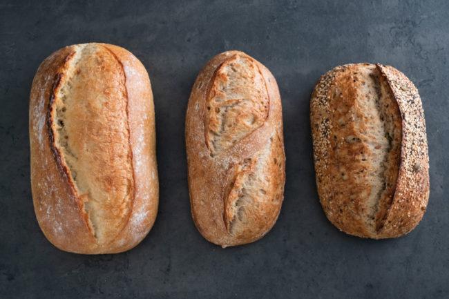 La Brea Bakery Founders bread line