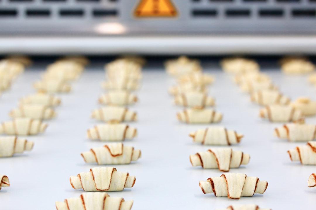 Croissant production