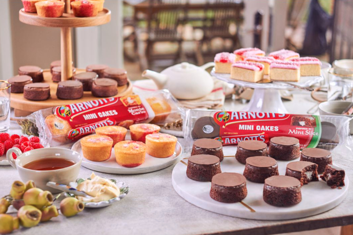 Arnotts mini cakes, Campbell Soup Co.